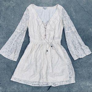 AE American Eagle boho lace dress S cute mini
